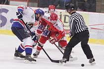 Orlovští hokejisté znovu prohráli rozdílem jednoho gólu.