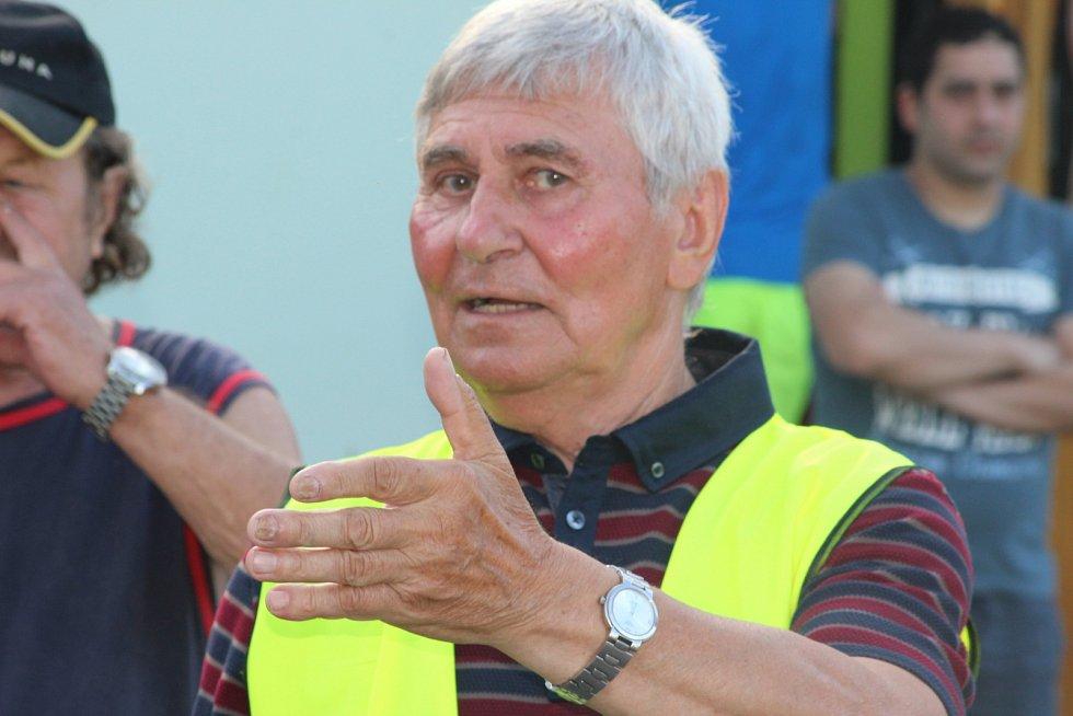 Günter Cviner, současný předseda klubu.