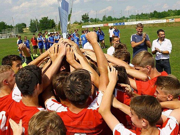 Fotbalisté RFA Karviná byli na turnaji nejlepší.