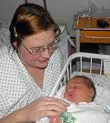 Štěpánek Michal Bystroň se narodil 29. listopadu paní Blance Bystroňové z Dolní Lutyně. Po narození chlapeček vážil 4780 g a měřil 52 cm.