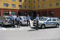 Zvýšený policejní dohled ve starém Šumbarku.