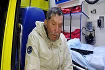Policisté potřebují zjistit jméno tohoto nalezeného muže.