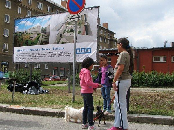 Slavnostní zahájení rekonstrukce náměstí TGM vHavířově-Šumbarku.
