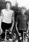 Břetislav Ševčík (vlevo) a Josef Muška v roce 1975.