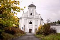 Šikmý kostel v Karviné-Dolech.