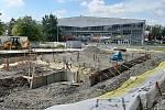 V Karviné pokračuje stavba restaurace KFC.
