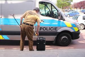 Policejní pyrotechnik. Ilustrační snímek.