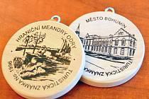 Turistické známky města Bohumína.