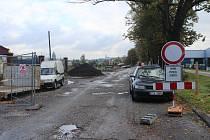 Dokončení rekonstrukce ulice Lípová v Českém Těšíně se o několik týdnů opozdí.