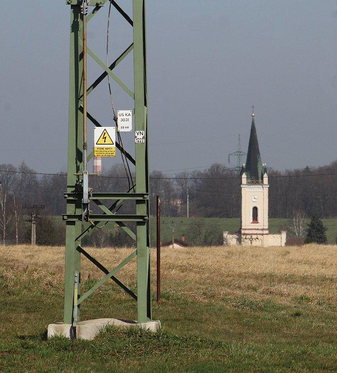 Dětmarovice. Pohled na obec.