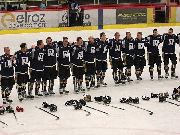 Další výhra, další radost. Hokejisté už šlapou na paty pátým Litoměřicím!