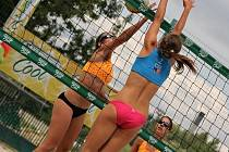 V Karviné byl k vidění turnaj ABV Českého volejbalového svazu v beachvolejbalu registrovaných hráček.