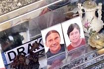 Náhrobek zavražděných manželů Muszańských.