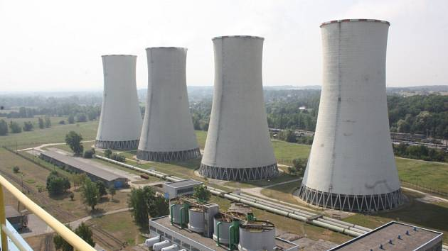 Elektrárna Dětmarovice.