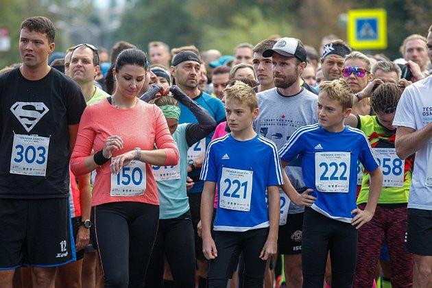 Běžecký závod Těšínská osmička.
