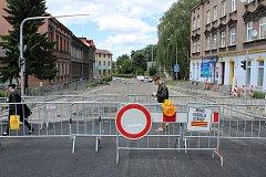 Od 1. července přibyla v centru Českého Těšína další uzavírka silnice.