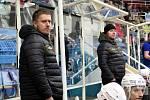 Havířov (v bílém) prodloužil svou vítěznou sérii i proti Karlovým Varům.