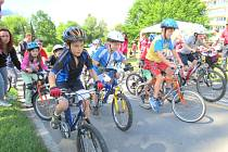 14. ročník cyklistického závodů dětí do 15. let.