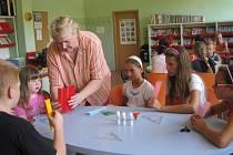 Děti skládání origami velmi bavilo.