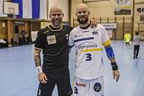 Michal Brůna (vlevo) a Rostislav Brůna.