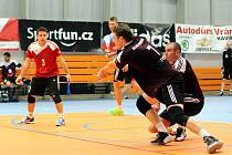 Volejbalisté SKV se snažili, ale Budějovice měly navrch.