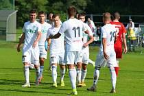 Rezerva ligové Karviné podlehla ve 13. kole fotbalové divize F v neděli doma SFC Opava B 1:2.