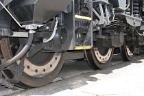 Kola lokomotivy. Ilustrační snímek
