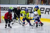 Týden hokeje na Karvinsku se vydařil. Na snímcích Den hokeje v Orlové.