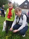 Fotografie rostlin pořizují žáci například i v centru města či v karvinském lesoparku Dubina.