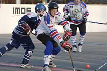 Hokejbalisté Karviné střídají vítězství s prohrami.