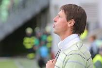 Trenér František Straka si úvodní utkání baráže protrpěl. Jak tomu bude v neděli v Jihlavě?