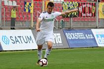 Benjamin Čolič bude proti Baníku absentovat.