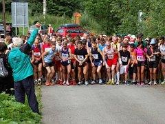 Běh na Lysou horu se těší zájmu sportovců.