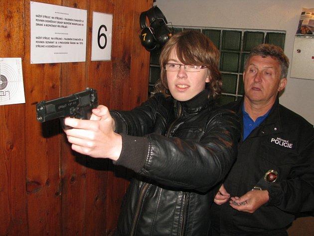 Střelecká soutěž žáků havířovských základních škol.