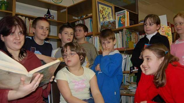 Noční čtení se dětem líbilo