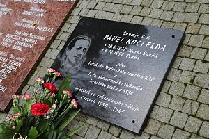 Slavnostní odhalení pamětní desky P. Kocfeldovi
