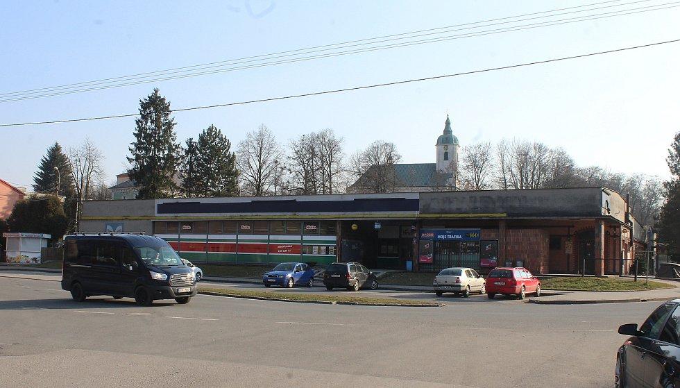 Dolní Lutyně. nákupní středisko