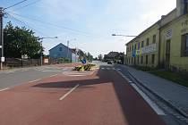 V tomto místě v Petřvaldu srazila řidička chodce.