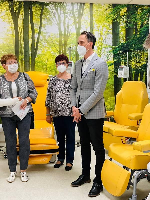 Slavnostní otevření onkologického stacionáře Havířov.