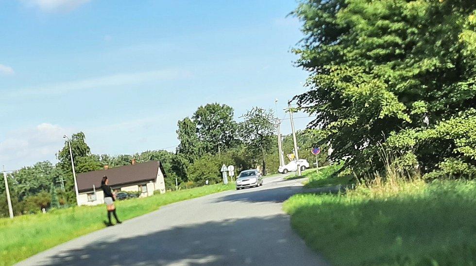 Karviná-Louky. Z původní obce zbylo torzo poté, co její velká část padla v 80. letech za oběť těžbě uhlí.