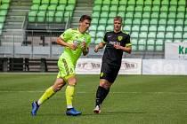 Vojtěch Smrž (v zeleném) zažívá už pátou ligovou sezonu.