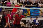 Mezinárodní badmintonový podnik v Orlové.