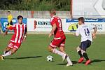 Dětmarovice (v bílém) porazily Bruntál 1:0.