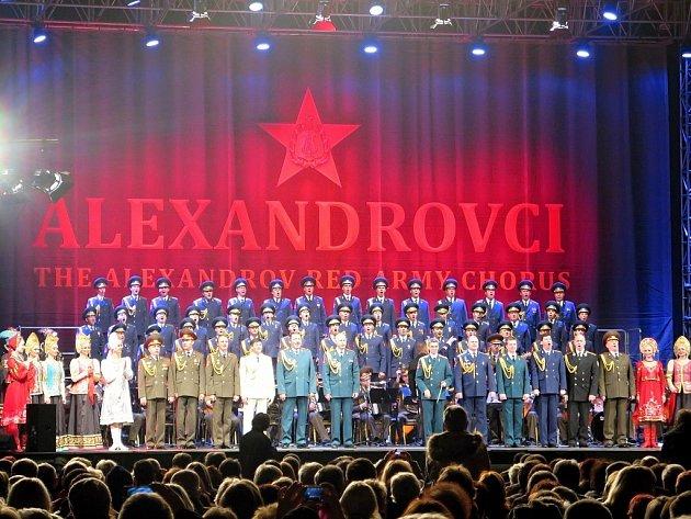 Galakoncert Alexandrovců v Havířově u příležitosti oslav 60. výročí založení města.