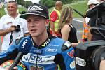 Mezinárodní motocyklové závody Havířovský zlatý kahanec 2018. Danny Webb.