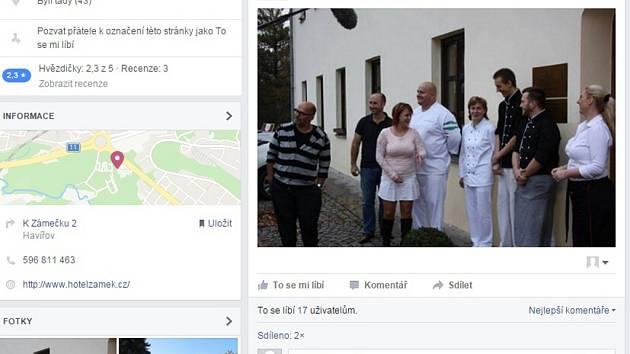 Vedení havířovského zámku umístilo snímek Deníku na své stránky, aniž by řádně uvedlo zdroj nebo si vyžádalo souhlas.