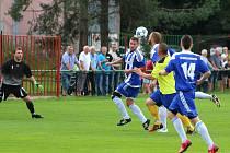 Vítězně vstoupily do jara také fotbalové Albrechtice.