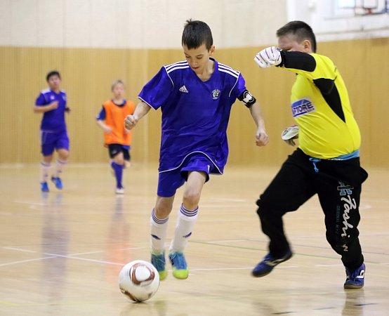 Mezinárodní fotbalový turnaj žactva vHorní Suché.