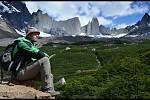 Cestovatel Ivo Petr na jedné ze svých minulých výprav do Torres del Paine v Chile.