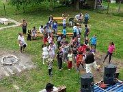 Komunitní centrum Přístav střediska Don Bosko v Prostřední Suché.